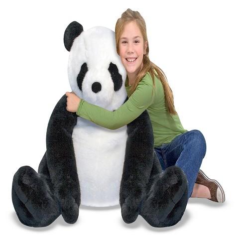 Melissa Doug Giant Panda Bear Lifelike Stuffed Animal Over 2