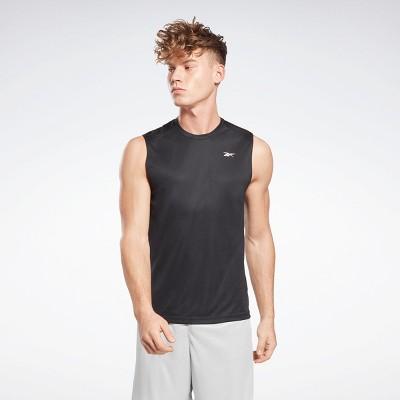 Reebok Workout Ready Sleeveless Tech T-Shirt Mens Athletic Tank Tops