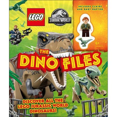 Lego Jurassic World the Dino Files - by  Catherine Saunders (Mixed Media Product)
