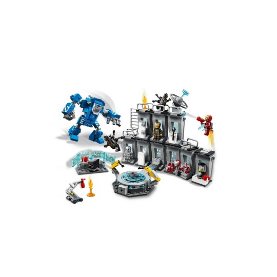 LEGO Super Heroes Marvel Avengers Movie 4 Iron Man Hall of Armor 76125 image number null