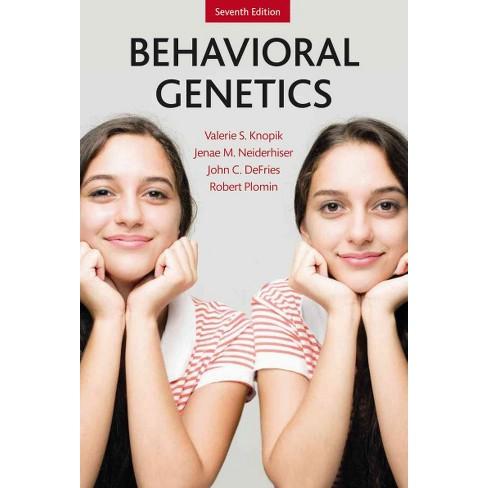 Behavioral Genetics Hardcover Valerie S Knopik Jenae M