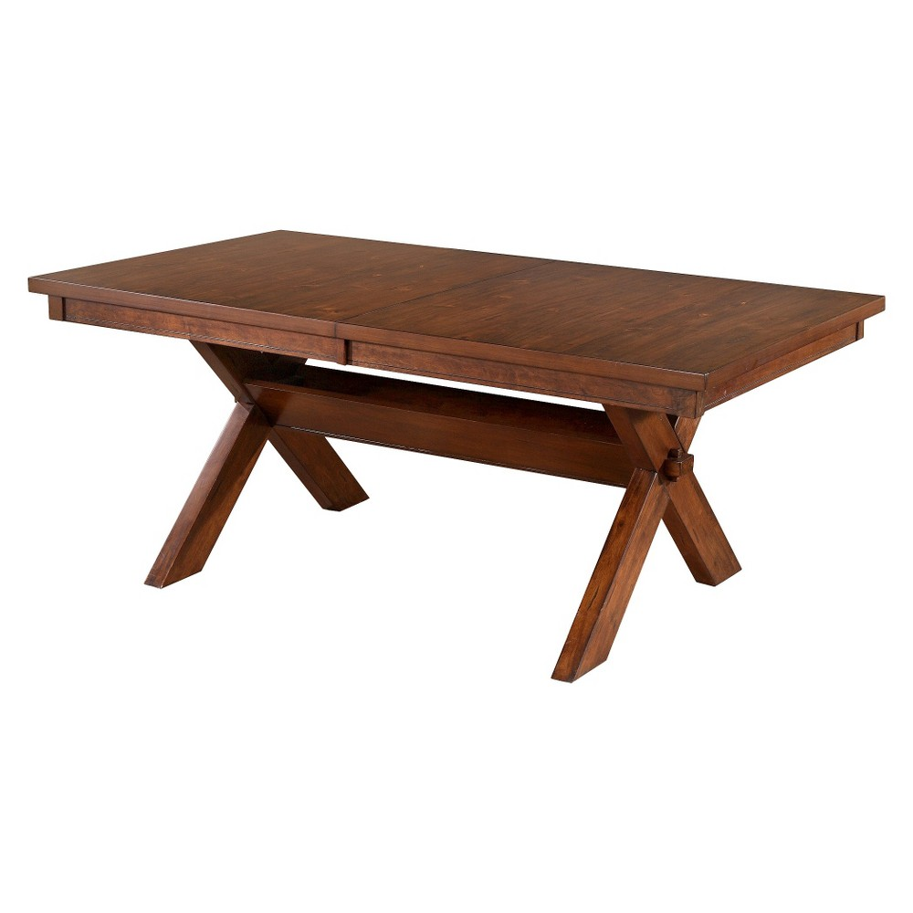 Jackson Dining Table Dark Hazelnut - Powell Company.