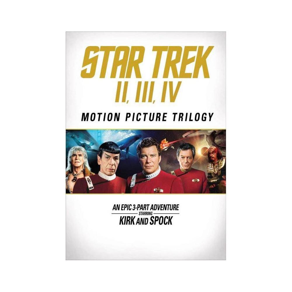 Star Trek Ii Star Trek Iii Star Trek Iv Dvd 2016