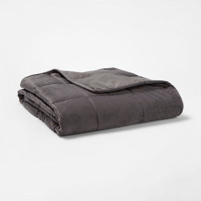 10lb Weighted Throw Blanket Gray - Tranquility
