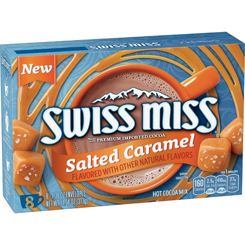 Swiss Miss Salted Caramel - 1.38oz - image 1 of 4