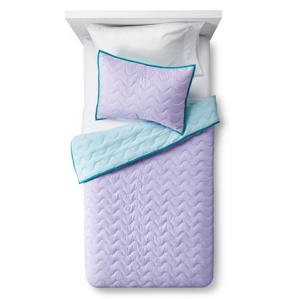 Basic Quilt Set Twin Purple 2 pc - Pillowfort, Shy Lavender