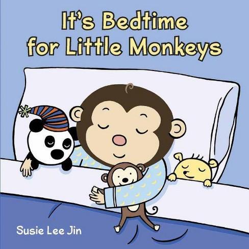 It's Bedtime for Little Monkeys - (Board_book) - image 1 of 1