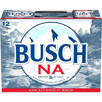 Busch Non-Alcoholic Beer - 12pk/12 fl oz Cans