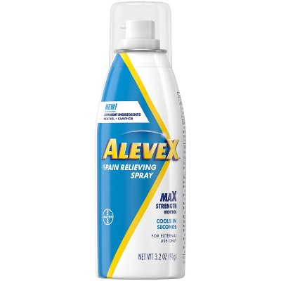 AleveX Topical Pain Reliever Spray - 3.2oz
