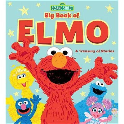 Sesame Street Big Book of Elmo - (Hardcover)