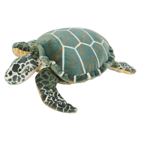Melissa Doug Giant Sea Turtle Lifelike Stuffed Animal Nearly 3
