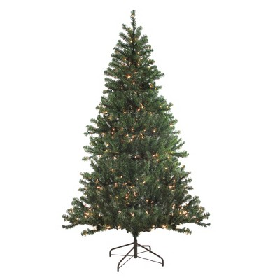 Northlight 7' Prelit Artificial Christmas Tree Balsam Pine - Clear Lights