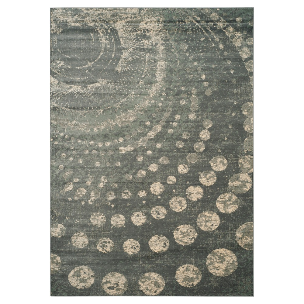 Constellation Vintage Rug - Light Gray/Multi - (6'7