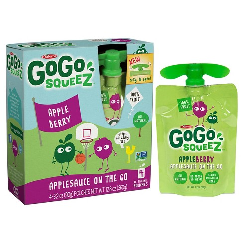 GoGo SqueeZ Applesauce On The Go Apple Berry 48ct - 3.2oz - image 1 of 1