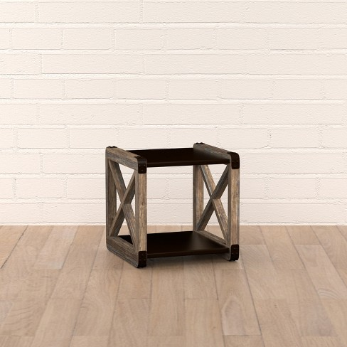 Teague End Table - Cream - Handy Living - image 1 of 5