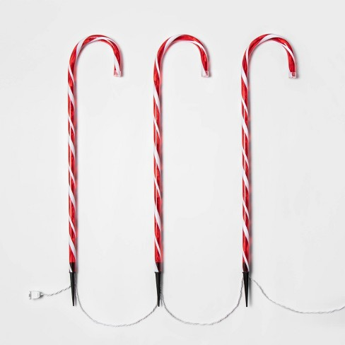 3ct/28in Candy Cane Path Lights - Wondershop™ - image 1 of 2
