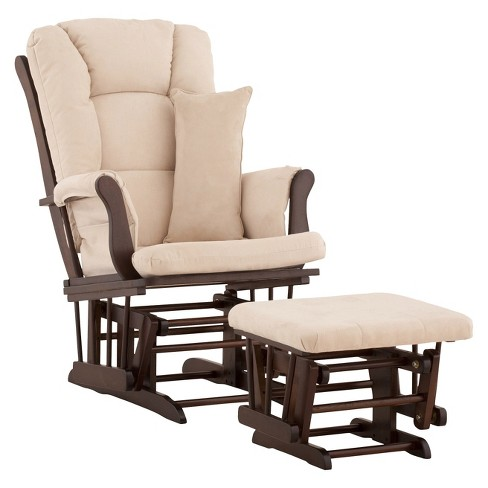 Storkcraft Tuscany Espresso Frame Glider and Ottoman - image 1 of 1