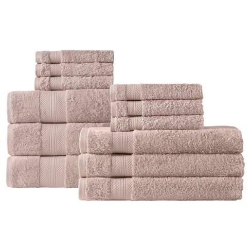 chloe bath towel set 12pc makroteks target. Black Bedroom Furniture Sets. Home Design Ideas