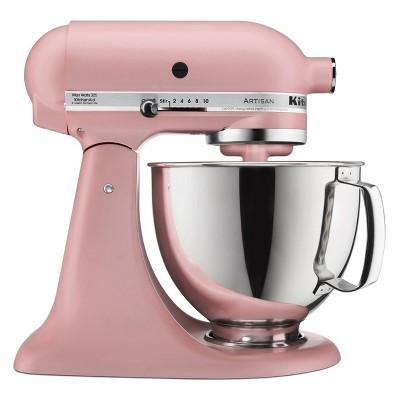 KitchenAid Artisan 5qt Tilt-Head Stand Mixer Matte Pink - KSM150PSDR