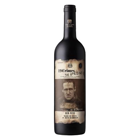 19 Crimes The Uprising Red Blend Wine - 750ml Bottle - image 1 of 2