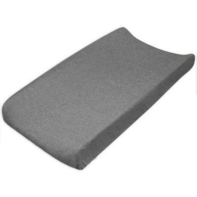 Honest Baby Organic Cotton Baby Terry Changing Pad Cover - Heather Gray