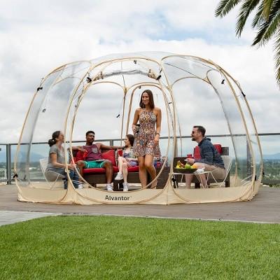 15' x 15' Bubble Tent Pop Up Gazebo - Alvantor