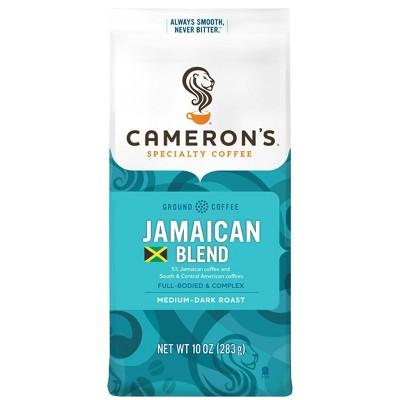 Cameron's Jamaican Blend Dark Roast Ground Coffee - 10oz