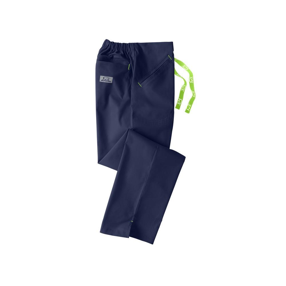 IguanaMed Scrub Pants - Navy S, Blue