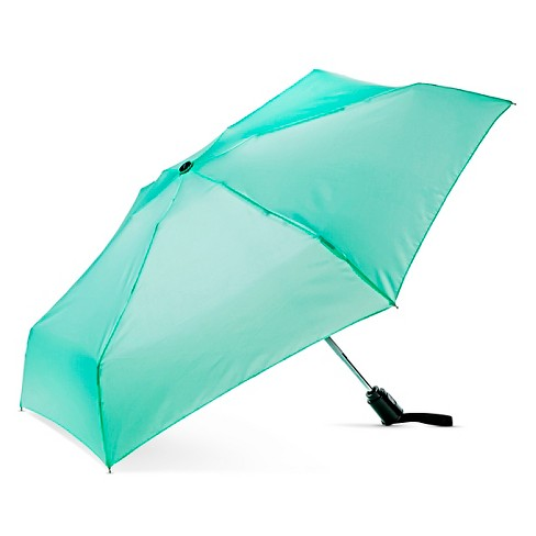 ShedRain Auto Open/Close Compact Umbrella - Hot Mint - image 1 of 2