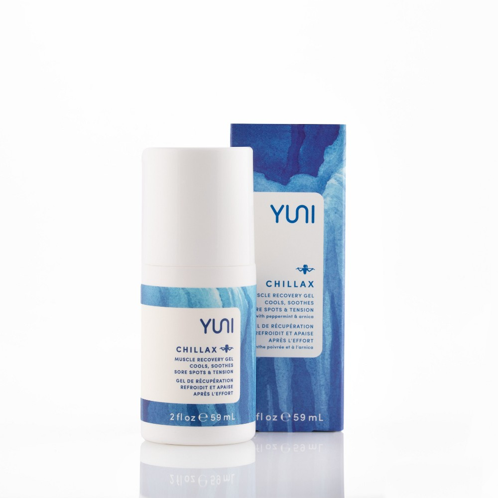 Yuni Chillax Muscle Recovery Gel - 2oz, Clear