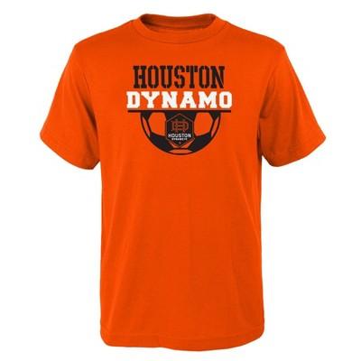 MLS Houston Dynamo Boys' Short Sleeve Core T-Shirt