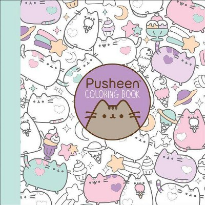 Pusheen Coloring Book - (Pusheen Book) By Claire Belton (Paperback) : Target
