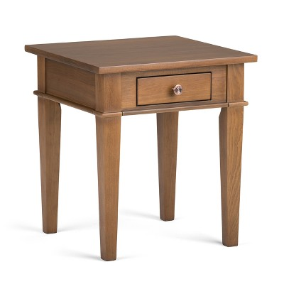 "18"" Sterling Solid Wood Contemporary End Table - Wyndenhall"