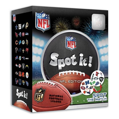 NFL League Spot It Game - image 1 of 3