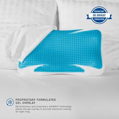 SensorPEDIC GelMAX Luxury Cooling Memory Foam Bed Pillow