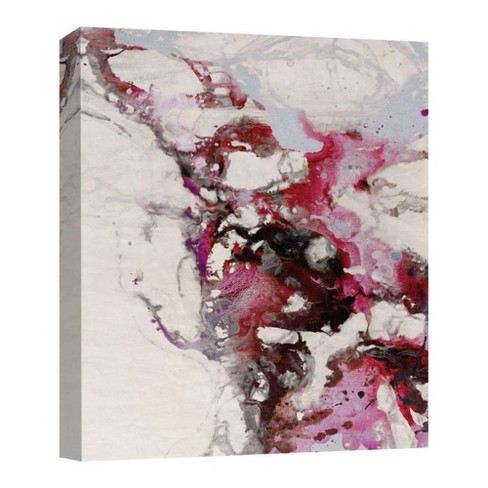 "Pink Explosion Decorative Canvas Wall Art 11""x14"" - PTM Images - image 1 of 1"