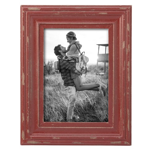 8X10 Dalton Photo Frame Red - Foreside Home and Garden - image 1 of 1