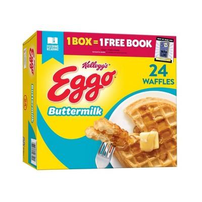Kellogg's Eggo Buttermilk Frozen Waffles - 29.6oz/24ct