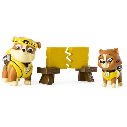 Paw Patrol - Pup-Fu Rubble and Kitty - Rescue Set - image 1 of 3