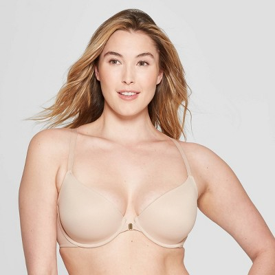 df11deec4d Women s Ace Lightly Lined Demi Racerback Bra - Auden™ Pearl Tan 38DDD    Target