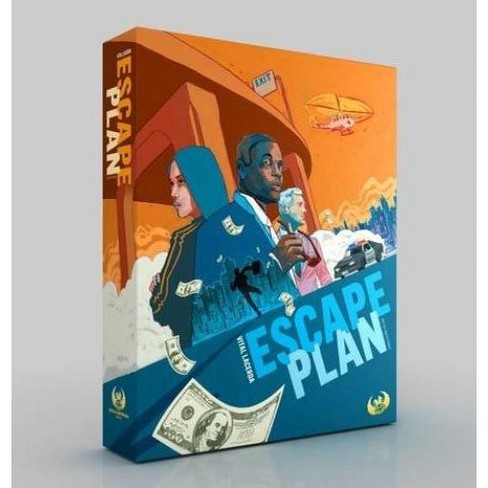 Escape Plan w/Upgrade Pack Board Game - image 1 of 2