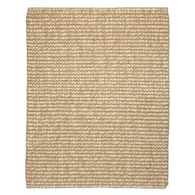 Jute/Wool Area Rug - Ivory (4'x6')