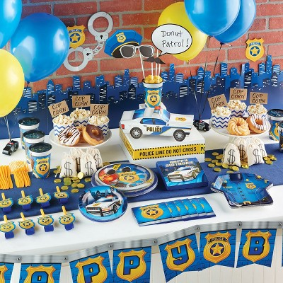Amazing Police Birthday Party Supplies Collection Target Funny Birthday Cards Online Alyptdamsfinfo