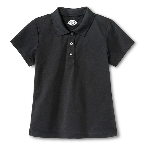 Dickies Girls' Performance Uniform Polo Shirt - image 1 of 1
