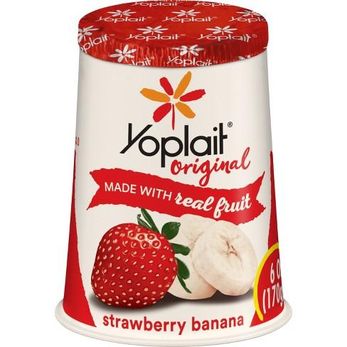 Yoplait Original Strawberry Banana Yogurt - 6oz - image 1 of 3