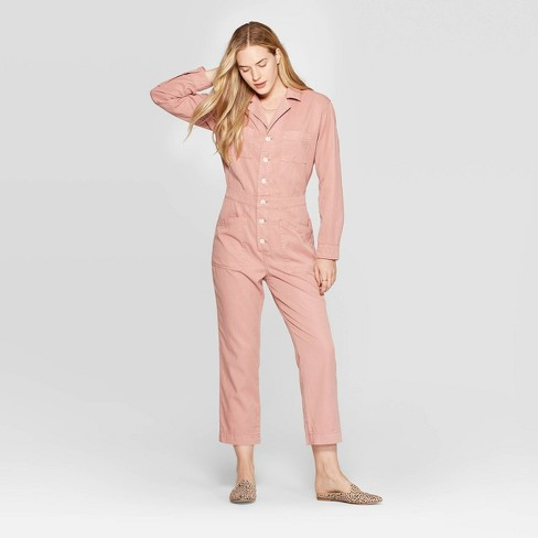Women's Long Sleeve Boiler Suit Coveralls - Universal Thread™ - image 1 of 3