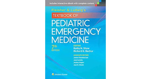 Fleisher & Ludwig's Textbook of Pediatric Emergency Medicine (Hardcover) - image 1 of 1