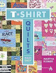 T-Shirt Quilts Made Easy (Original)(Paperback)(Martha Deleonardis)