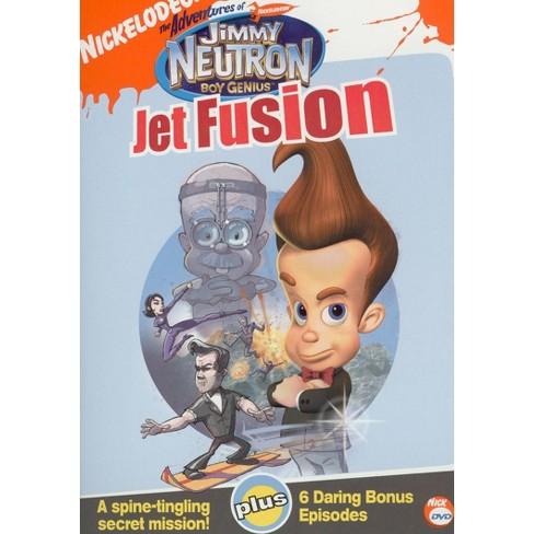Jimmy Neutronjet Fusion Dvd Target