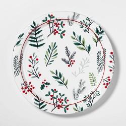 "10.5"" 12ct Conservatory Round Disposable Plates - Wondershop™"